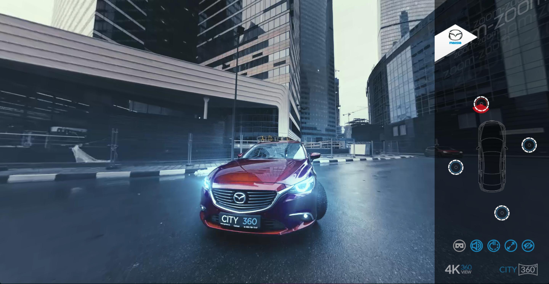Mazda 360 VR 4K view